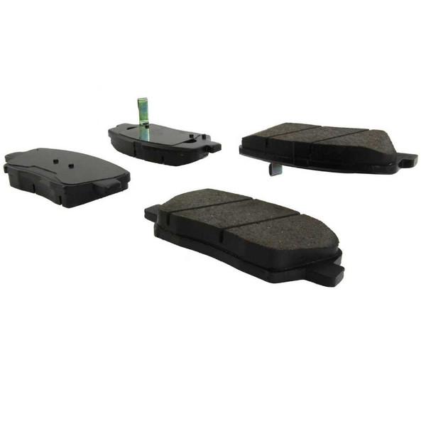 Front Ceramic Brake Pad Set - Part # SCD1432