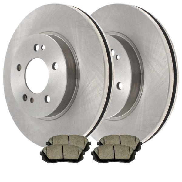 Front Ceramic Brake Pad and Rotor Bundle - Part # SCD1444-R41429