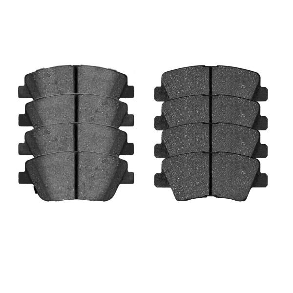 Front and Rear Ceramic Brake Pad Bundle - Part # SCD1445-1444