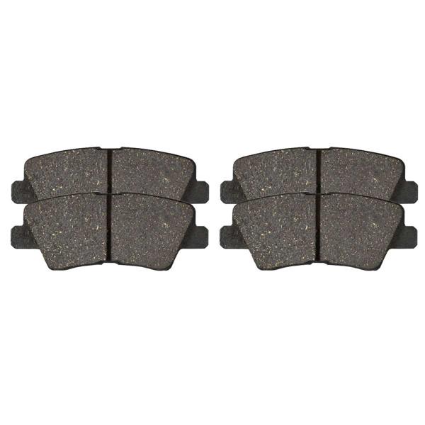 Rear Ceramic Brake Pad Set - Part # SCD1445