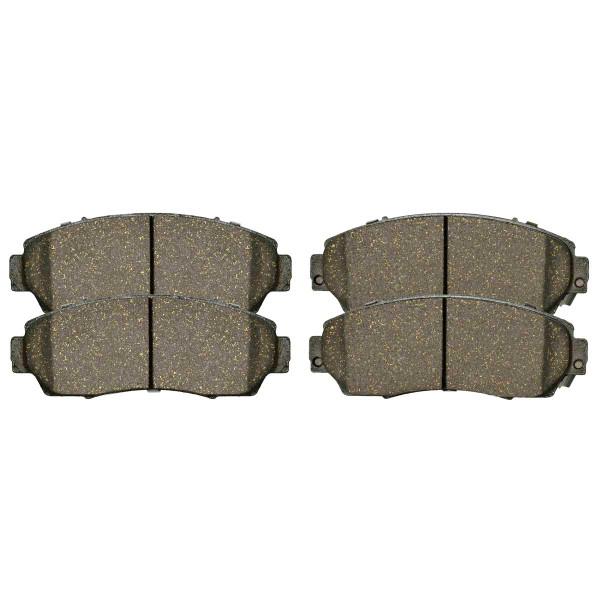 Front Ceramic Brake Pad Set - Part # SCD1521