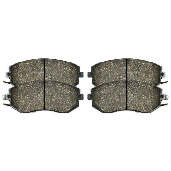 Front Ceramic Brake Pad Set - Part # SCD1539