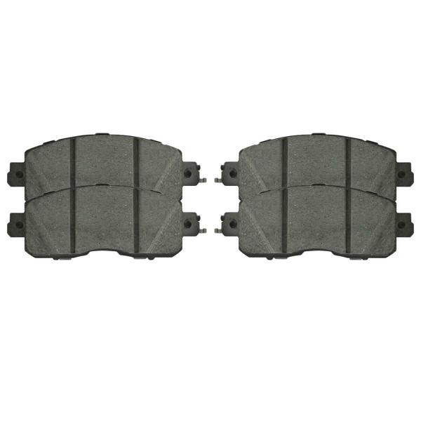 Front Ceramic Brake Pad Set - Part # SCD1650