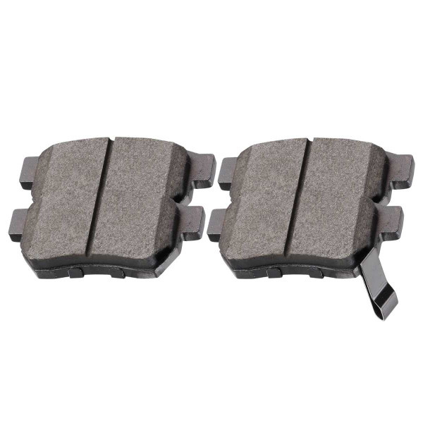Rear Ceramic Brake Pad Set 4 Wheel Disc - Part # SCD374