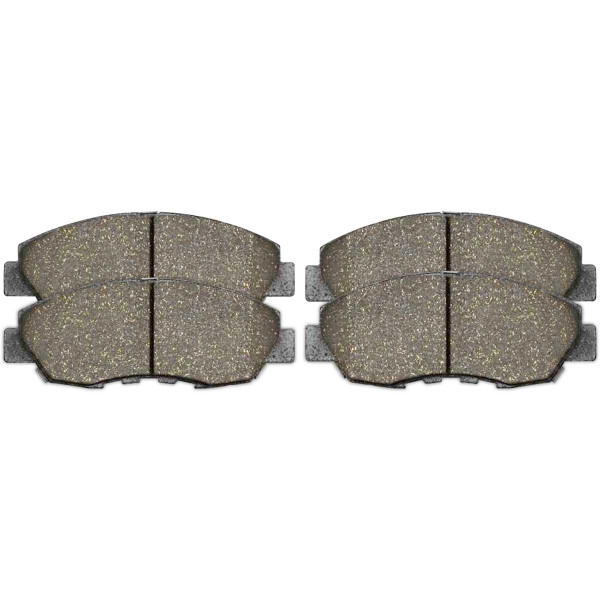 Front Ceramic Brake Pad Set - Part # SCD465A