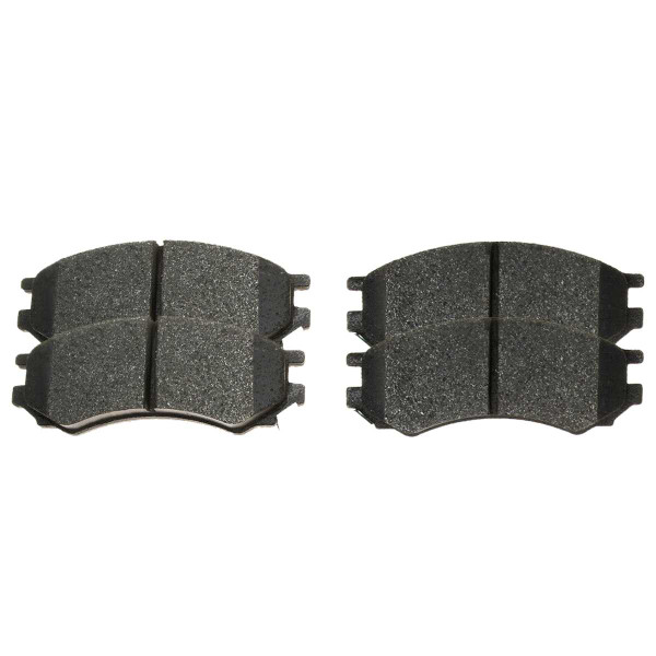 Front Ceramic Brake Pad Set - Part # SCD507