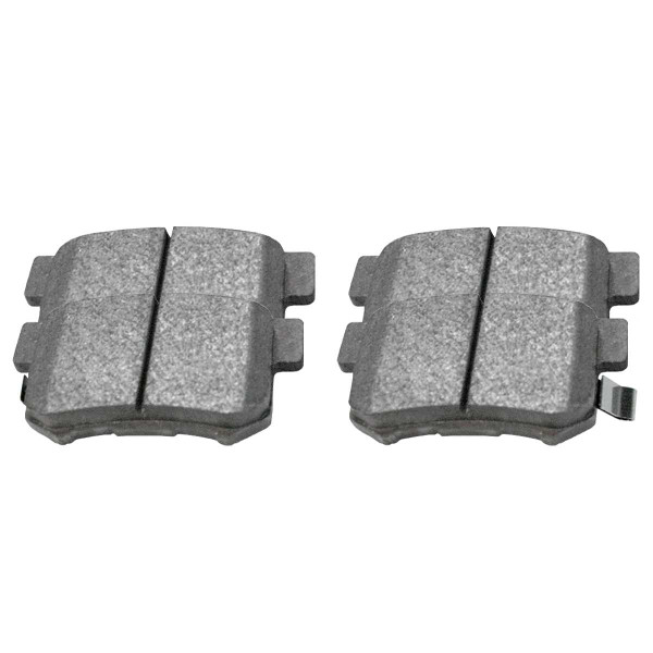 Rear Ceramic Brake Pad Set 4 Wheel Disc - Part # SCD537