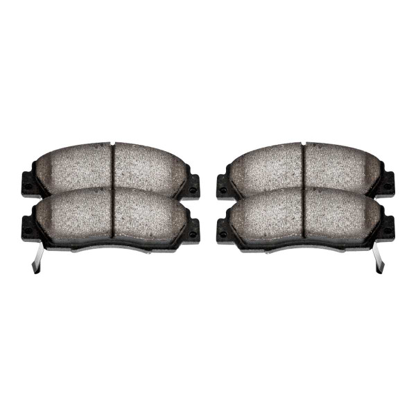Front Ceramic Brake Pad Set - Part # SCD617
