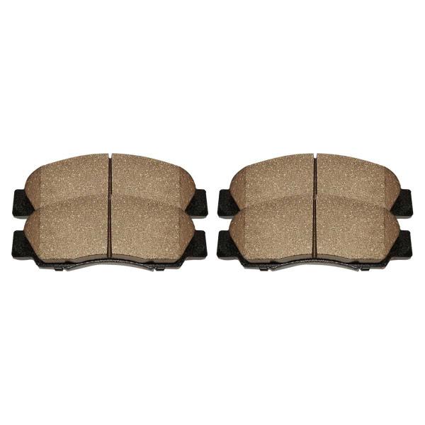Front Ceramic Brake Pad Set - Part # SCD621