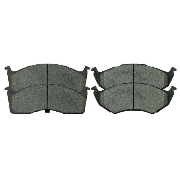 Front Ceramic Brake Pad Set - Part # SCD642