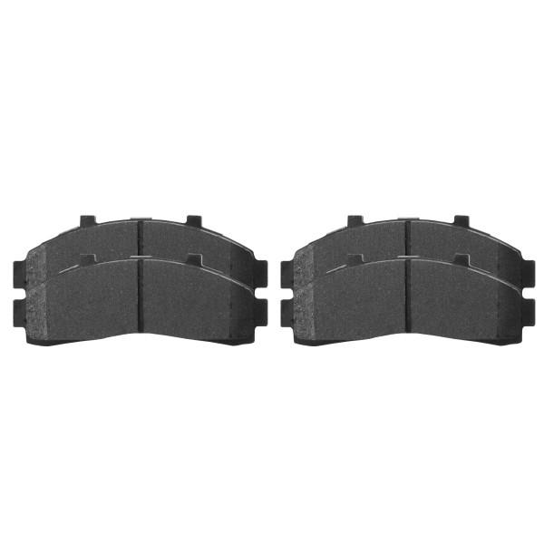 Front Ceramic Brake Pad Set - Part # SCD652