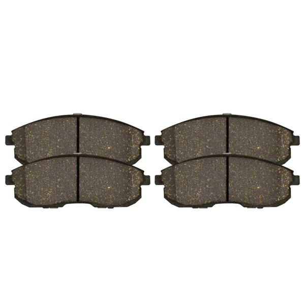 Front Ceramic Brake Pad Set - Part # SCD653