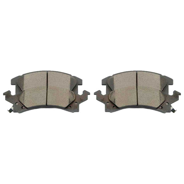 Front Ceramic Brake Pad Set - Part # SCD673