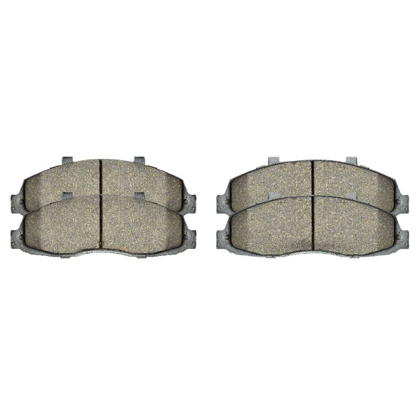 Front Ceramic Brake Pad Set - Part # SCD679
