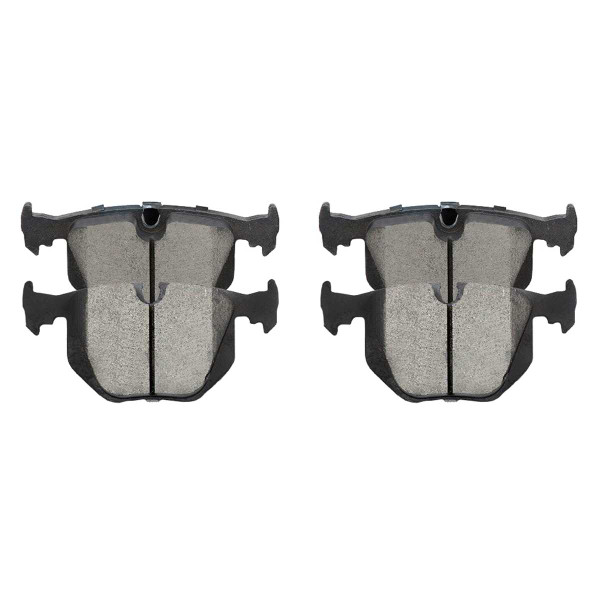 Rear Ceramic Brake Pad Set - Part # SCD683