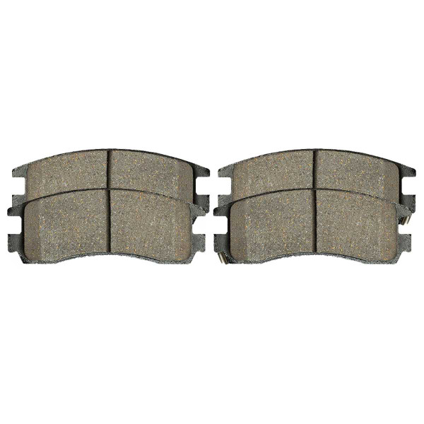 Rear Ceramic Brake Pad Set 4 Wheel Disc - Part # SCD698