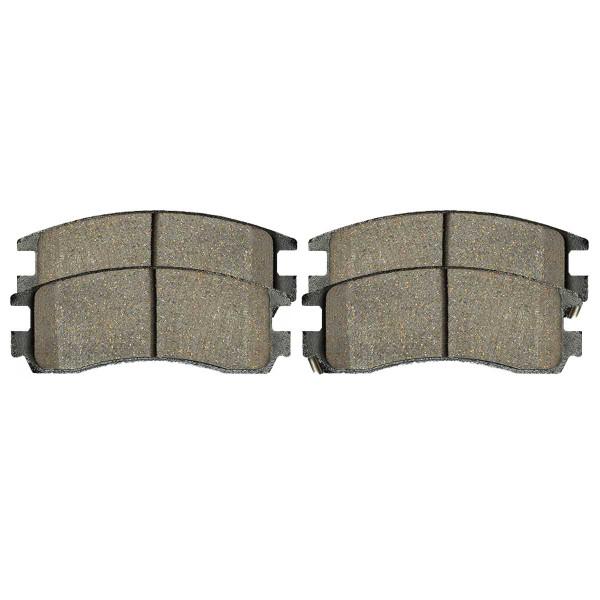 Rear Ceramic Brake Pad Set 4 Wheel Disc - Part # SCD698