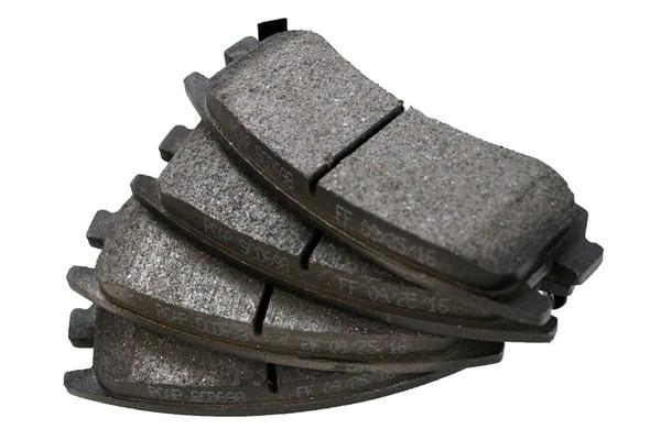 Ceramic Brake Pads - Part # SCD698