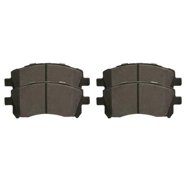 Front Ceramic Brake Pad Set - Part # SCD721