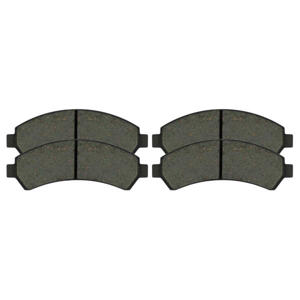 Front Ceramic Brake Pad Set - Part # SCD726