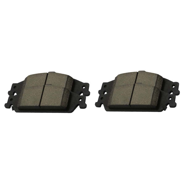 Front Ceramic Brake Pad Set - Part # SCD727