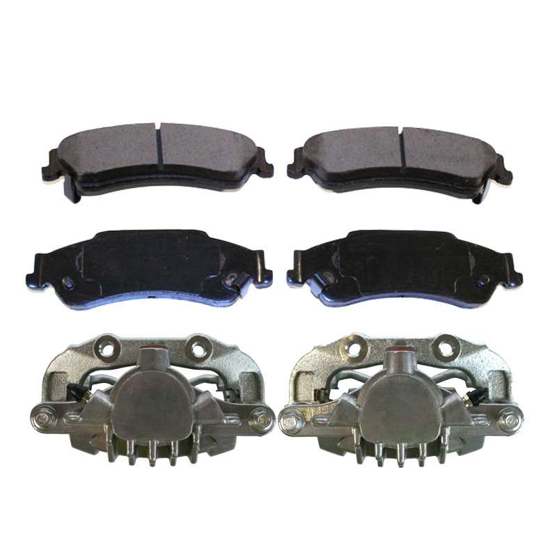 AutoShack SCD1665 Rear Ceramic Brake Pads