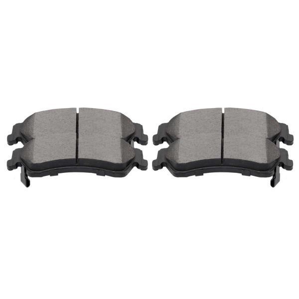 Rear Ceramic Brake Pad Set 4 Wheel Disc - Part # SCD729