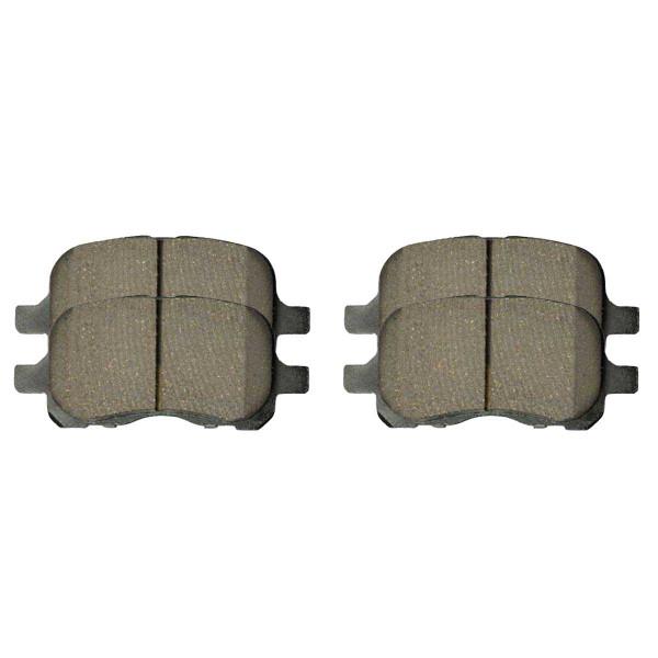 Front Ceramic Brake Pad Set - Part # SCD741