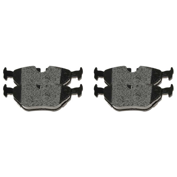 Rear Ceramic Brake Pad Set - Part # SCD763