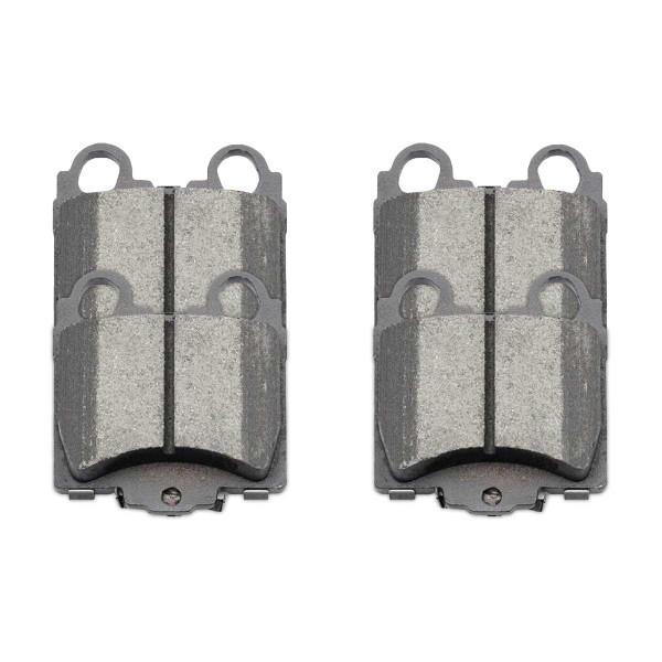 Rear Ceramic Brake Pad Set - Part # SCD771