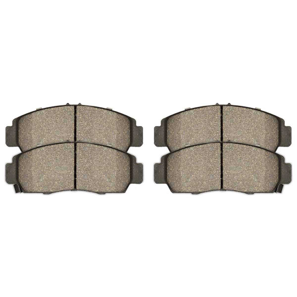 Front Ceramic Brake Pad Set - Part # SCD787