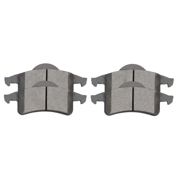 Rear Ceramic Brake Pad Set - Part # SCD791