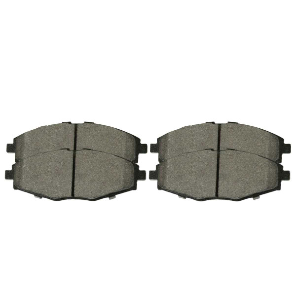 Front Ceramic Brake Pad Set - Part # SCD797