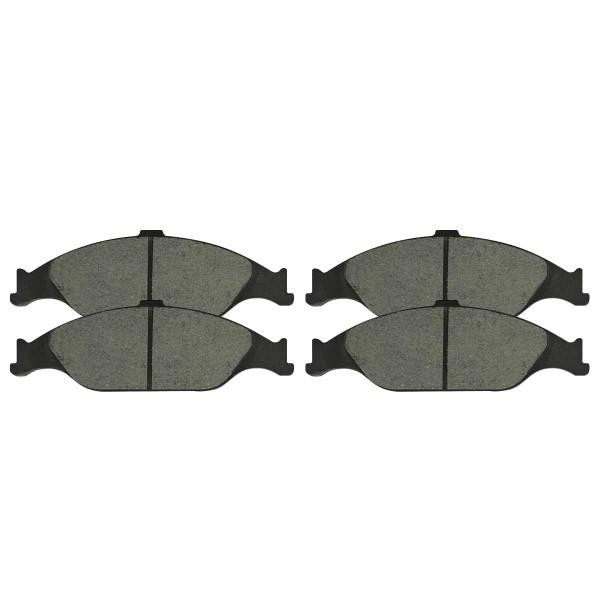 Front Ceramic Brake Pad Set - Part # SCD804