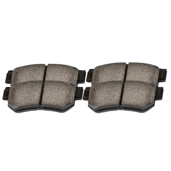 Rear Ceramic Brake Pad Set 4 Wheel Disc - Part # SCD813