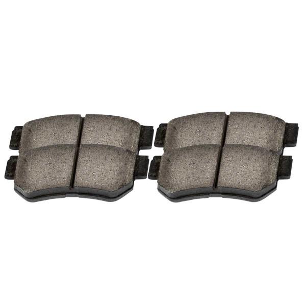 Rear Ceramic Brake Pad Set 4 Wheel Disc - Part # SCD813