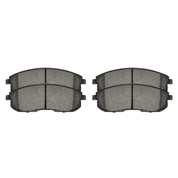 Front Ceramic Brake Pad Set - Part # SCD815A
