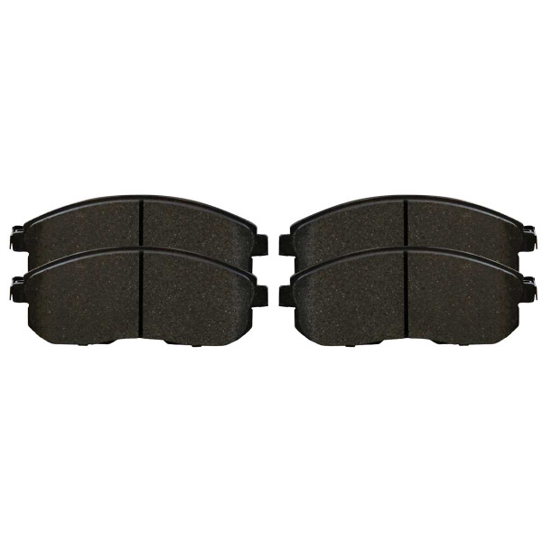 Front Ceramic Brake Pad Set - Part # SCD815