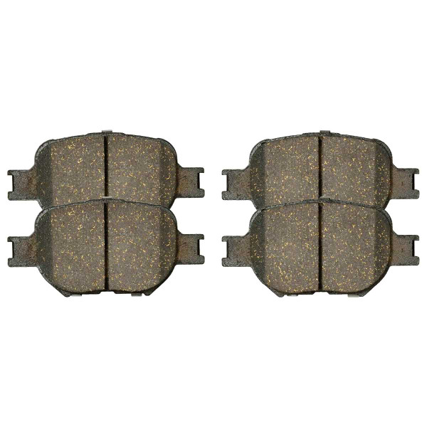 Front Ceramic Brake Pad Set - Part # SCD817