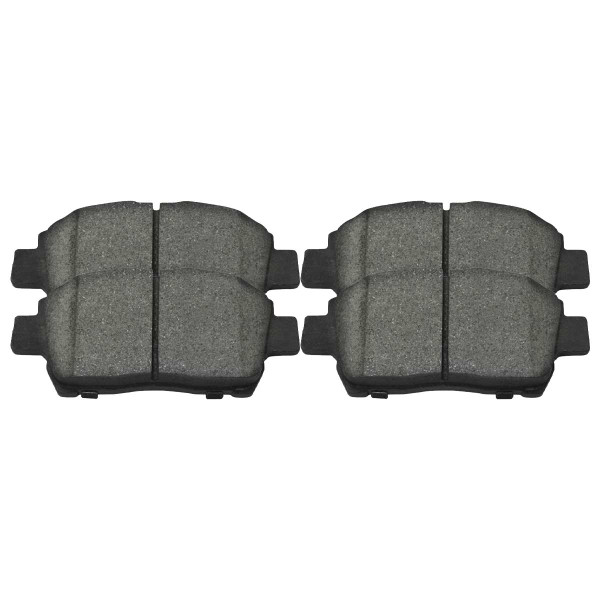 Front Ceramic Brake Pad Set - Part # SCD822