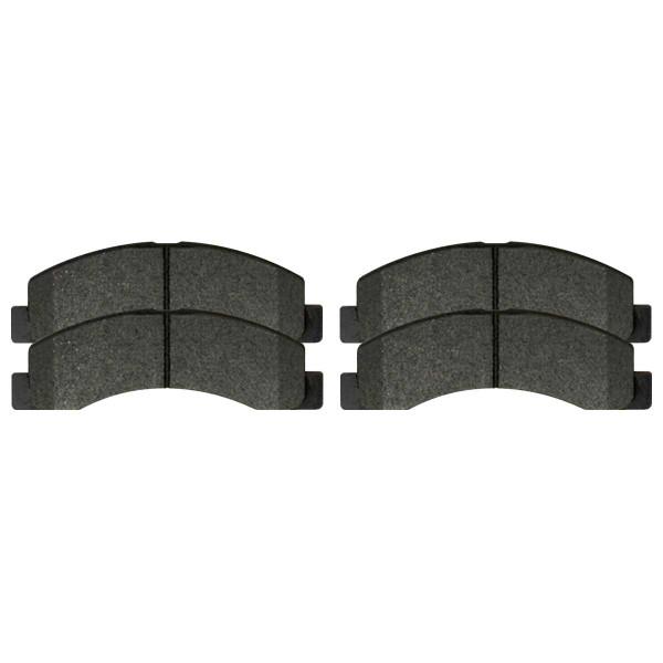 Front Ceramic Brake Pad Set - Part # SCD824