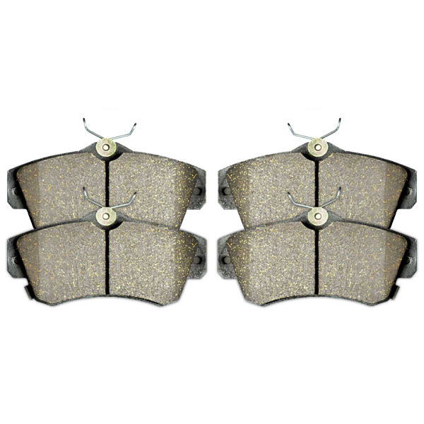 Front Ceramic Brake Pad Set - Part # SCD841