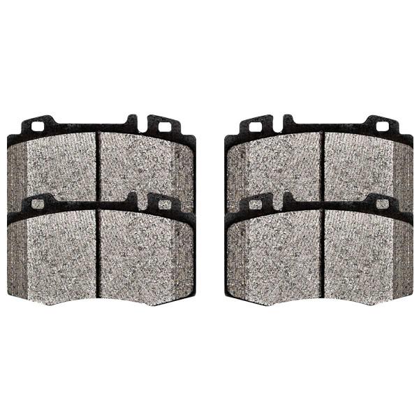 Front Ceramic Brake Pad Set - Part # SCD847