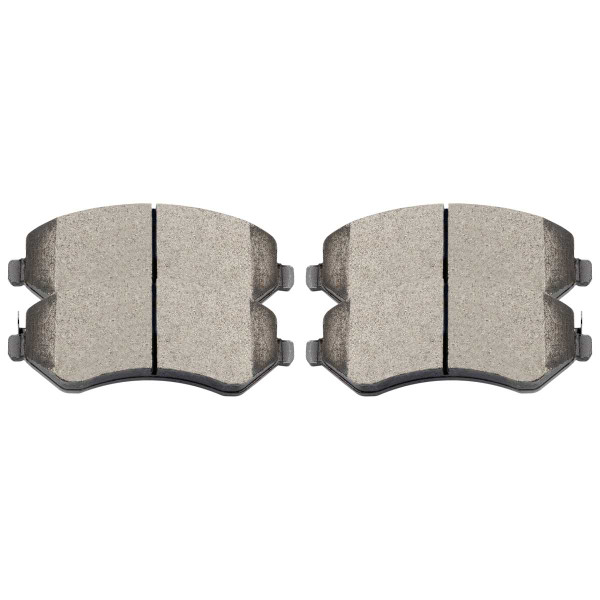 Front Ceramic Brake Pad Set - Part # SCD856