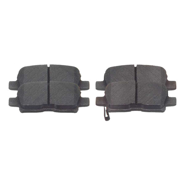 Rear Ceramic Brake Pad Set - Part # SCD865
