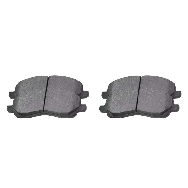 Front Ceramic Brake Pad Set - Part # SCD866