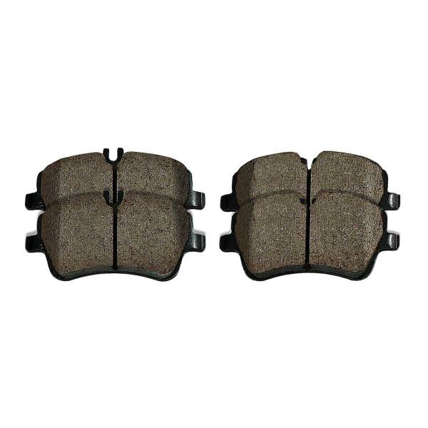 Front Ceramic Brake Pad Set - Part # SCD872