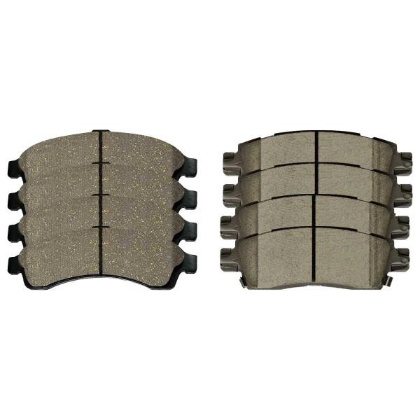 Front and Rear Ceramic Brake Pad Bundle - Part # SCD882-883