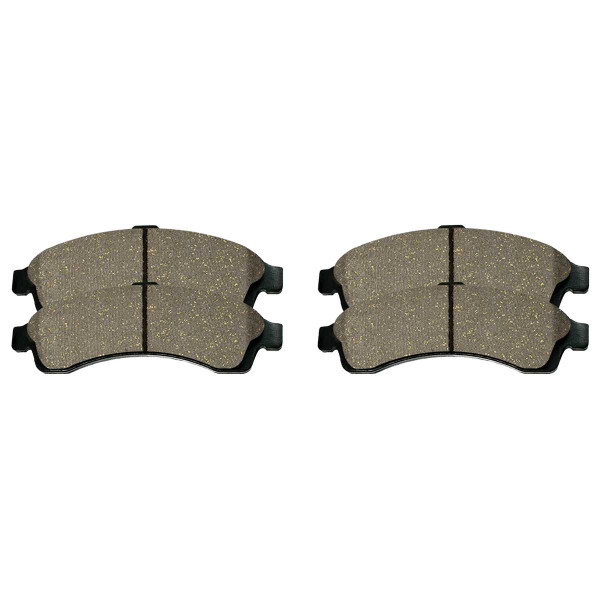 Front Ceramic Brake Pad Set - Part # SCD882