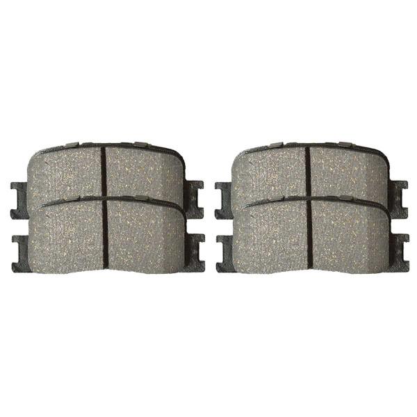 Rear Ceramic Brake Pad Set 4 Wheel Disc - Part # SCD885
